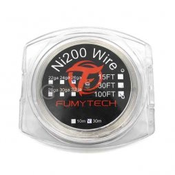 Ni200 Wire 10M 100FT(26ga*32ga)Fumytech