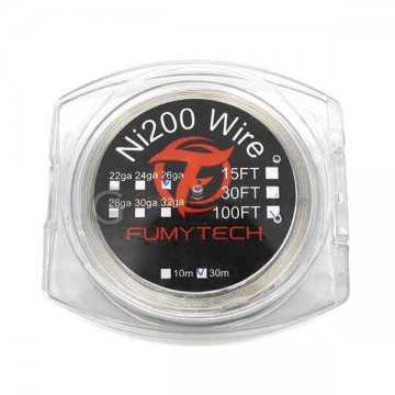 Ni200 Wire (30M) 100FT 26ga - Fumytech