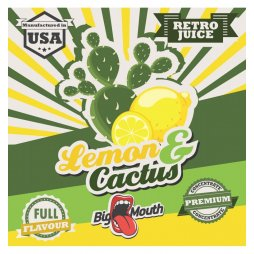 Saveur Lemon Cactus Retro Juice Concentré Big Mouth 10ml