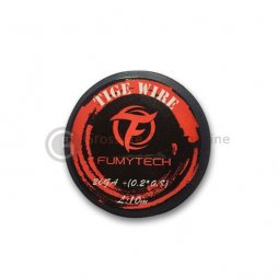 Kanthal A1(10m) Tiger wire 26ga 0.4mm + Ribbon 0.2*0.8mm Fumytech