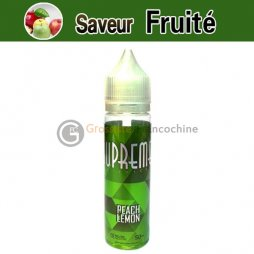 Peach Lemon 0mg - Suprême E-juice 50ml TPD FRANCE & BELGIQUE