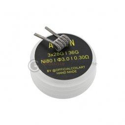 Coils Alien Full N80 0.3ohm - COILART