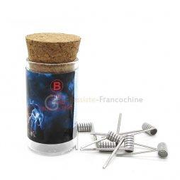 Flame coil B SS316L 0.35Ω (28GA*3+38GA) - Demon Killer