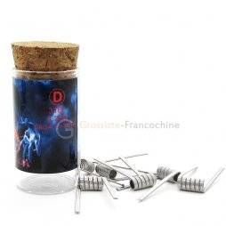 Flame coil D SS316L 0.25Ω (26GA*3+38GA) - Demon Killer
