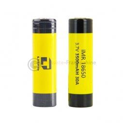 2 Batteries 18650 3500mAh 30A - Listman