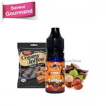 Concentrate Creamy Toffee Yummy - Big Mouth 10ml