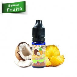 Saveur Pineapple Coconuts Retro Juice Concentré Big Mouth 10ml