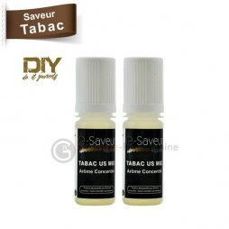 US mix tobacco concentrate - e-Saveur 2 x 10ml