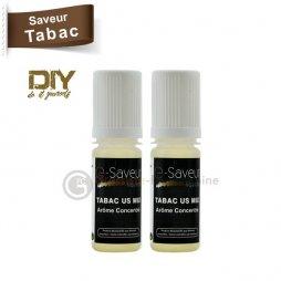 US mix tobacco concentrate - e-Saveur 2 x 10ml