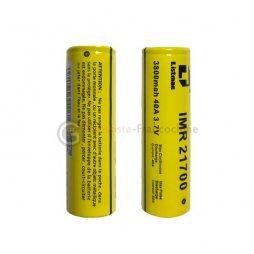 2 Batteries 20700 4200mAh 30A - Listman