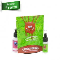 Concentré Strawberry rapsberry lime mint - Sensation Malaysian 10ml