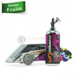 Pinky ketone 0mg - Charge Up 50ml + Booster de nicotine 20mg 80VG/20PG N+