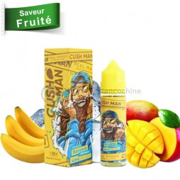 Mango Banana 0mg - Cush man Nasty juice 50ml TPD
