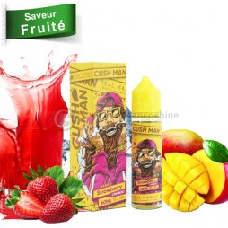 Mango Strawberry 0mg - Cush man Nasty juice 50ml TPD