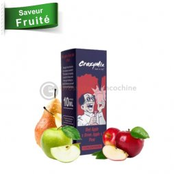 Concentré Red Apple Green Apple Pear - CrazyMix 10ml