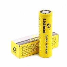 Battery 20700 3400mAh 40A - Listman