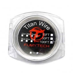 Titan Wire (30m) 100FT 26ga*32ga Fumytech