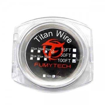 Titane grade 1 (30m) 100FT 26ga - Fumytech