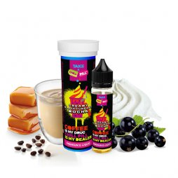 Creamy Blackcurrant Mocha - 50ml - Chill Pill