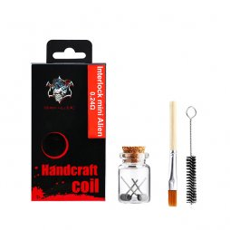 Handcraft coil Interlock mini Alien 0.24ohm- Demon Killer