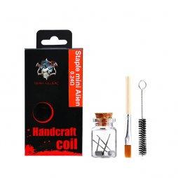 Handcraft coil Staple mini Alien 0.24ohm - Demon Killer