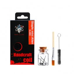 Handcraft coil Staple mini Alien 0.24ohm - Demon Killer