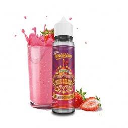 Milkshake Fraise 0mg 50ml - Liquideo Tentation