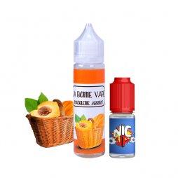 Madeleine Abricot 0mg 50 ml + Booster 10ml - La Bonne Vape