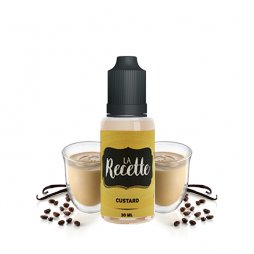 Arôme Custard 30ml - La Recette