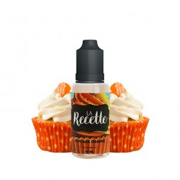 Aroma Cupcake Orange 10ml - La Recette