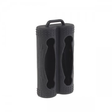 Silicone Case for 2 Batteries 20700