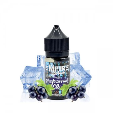 Concentré Blackcurrant Ice 30ml - Empire Brew