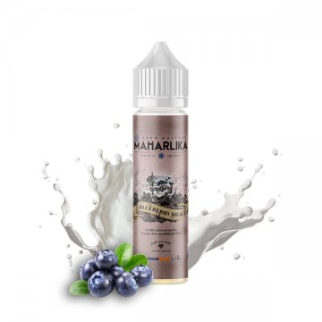 Blueberry Milk 0mg 50ml - Maharlika [CLEARANCE]