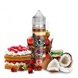 Raspberry Coconut Sponge 0mg 50ml - UK Labs Baked
