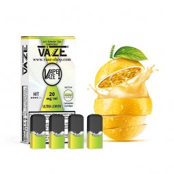 Cartouches Ultra Lemon (4pcs) - Vaze