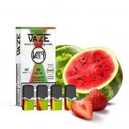 Cartridges Strawberry Watermelon (4pcs) - Vaze