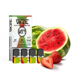 Cartridges Strawberry Watermelon (4pcs) - Vaze