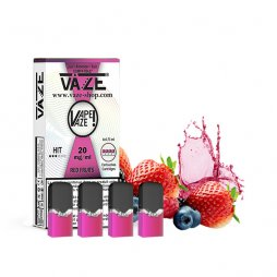 Cartridges Red Fruits (4pcs) - Vaze