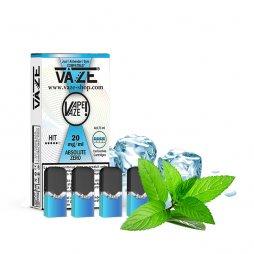 Cartridges Absolute Zero (4pcs) - Vaze