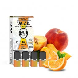Cartouches Peach Orange (4pcs) - Vaze