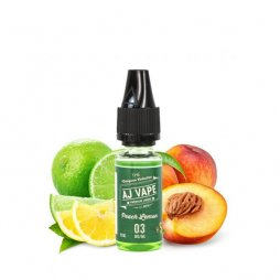 Peach Lemon - AJ Vape 10ml TPD READY