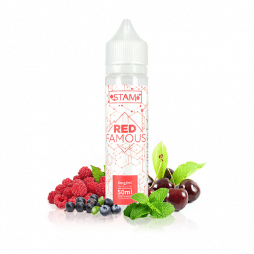 Red Famous 0mg 50ml - Stam