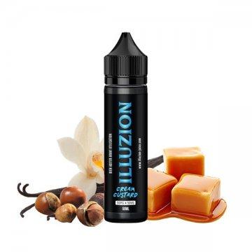 Cream & Custard ZHC 0mg 50ml - Illuzion