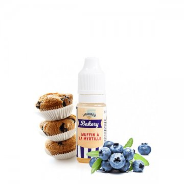Muffin à la Myrtille 10ml - Liquideo Tentation