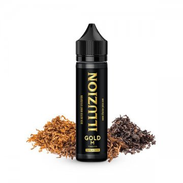 Gold M 0mg 50ml - Illuzion