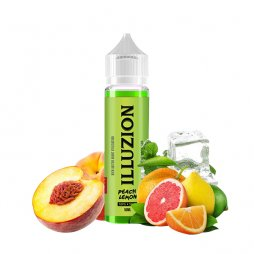 Peach Lemon 0mg - Illuzion 50ml TPD READY