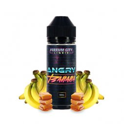 Angry Banana 0mg 100ml - Ferrum City