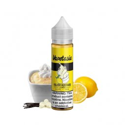 Killer Kustard Lemon 0mg 50ml - Vapetasia
