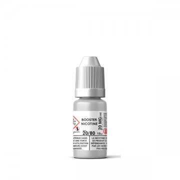 Booster de nicotine 20mg 20PG / 80VG - N+ 10ml