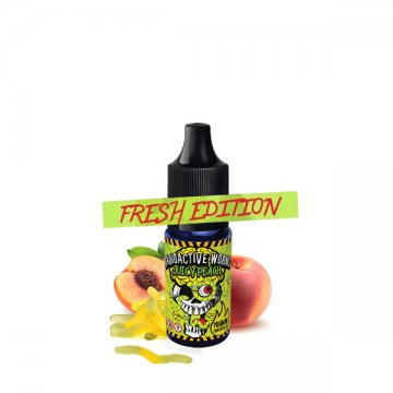 [Fresh Edition] Concentrate Radioactive Worms Juicy Peach 10ml - Chill Pill